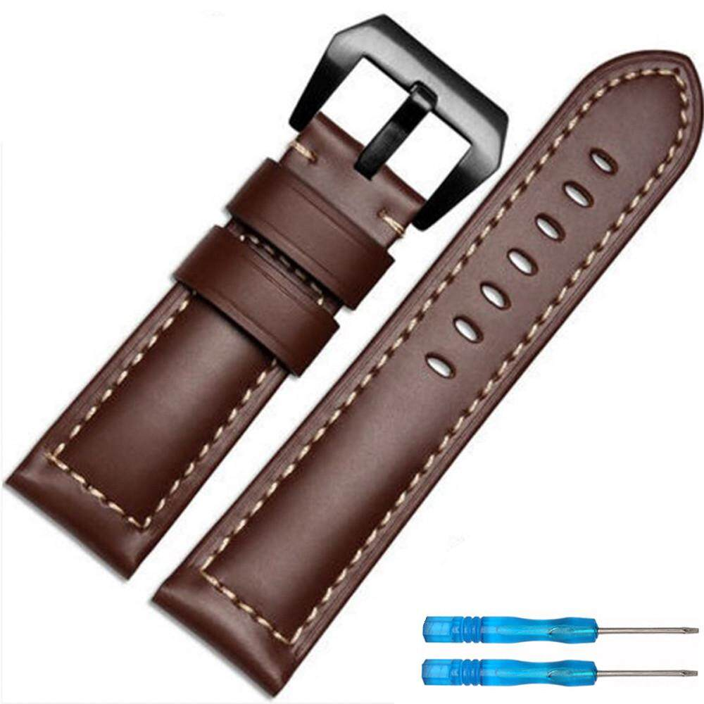 Replacement Luxury Leather Band Strap For Garmin Fenix 5X GPS Watch AG