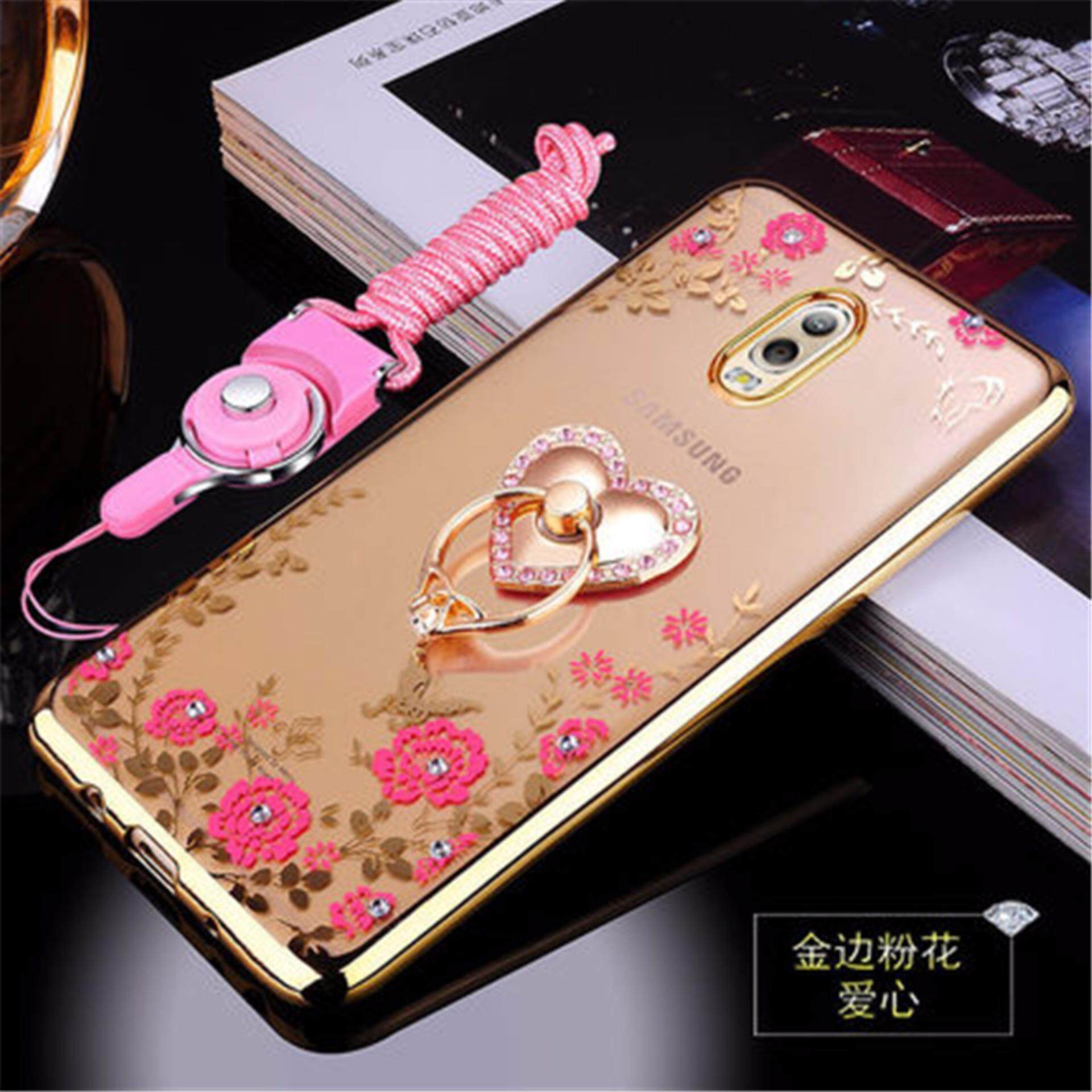 Where Can You Buy Rhinestone Phone Case Cover Holder Stand Protective Ultra Thin Silicone Soft Case For Samsung Galaxy C7 2017 Samsung Galaxy J7 Samsung Galaxy C8 C7100 5 5 Inch Case Intl