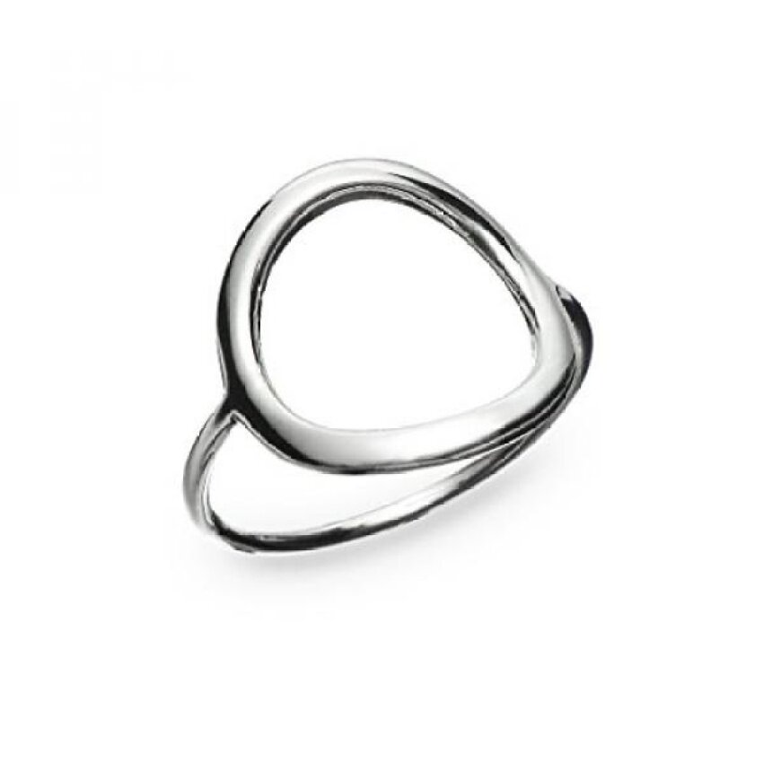 River Island Perhiasan 925 Sterling Perak Indah Wanita atau Girlsopen Sepanjang Lingkaran Ukuran 7-Internasional