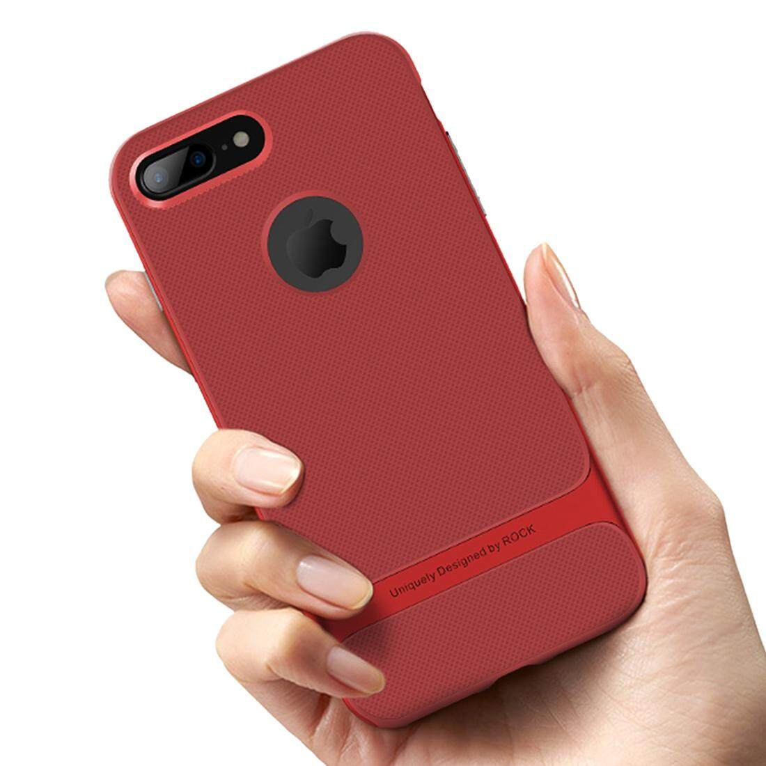 Who Sells Rock Royce Series For Iphone 8 Plus Business Style Tpu Pc Protective Case Red Intl