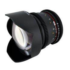 Rokinon CV14M-NEX 14mm T3.1 Wide Angle Lens for Sony E-mount with De-Clicked Aperture and Follow Focus Compatibility Wide-Angle Lens