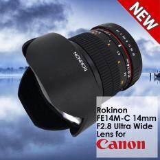Rokinon FE14M-C 14mm F2 8 Ultra Wide Lens for Canon (Black) - Fixed - NEW  Product