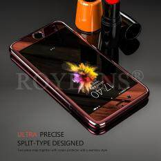 ROYBENS Hybrid 360° Anti-scratch Mirror Case Tempered Glass Cover For Apple iPhone 6