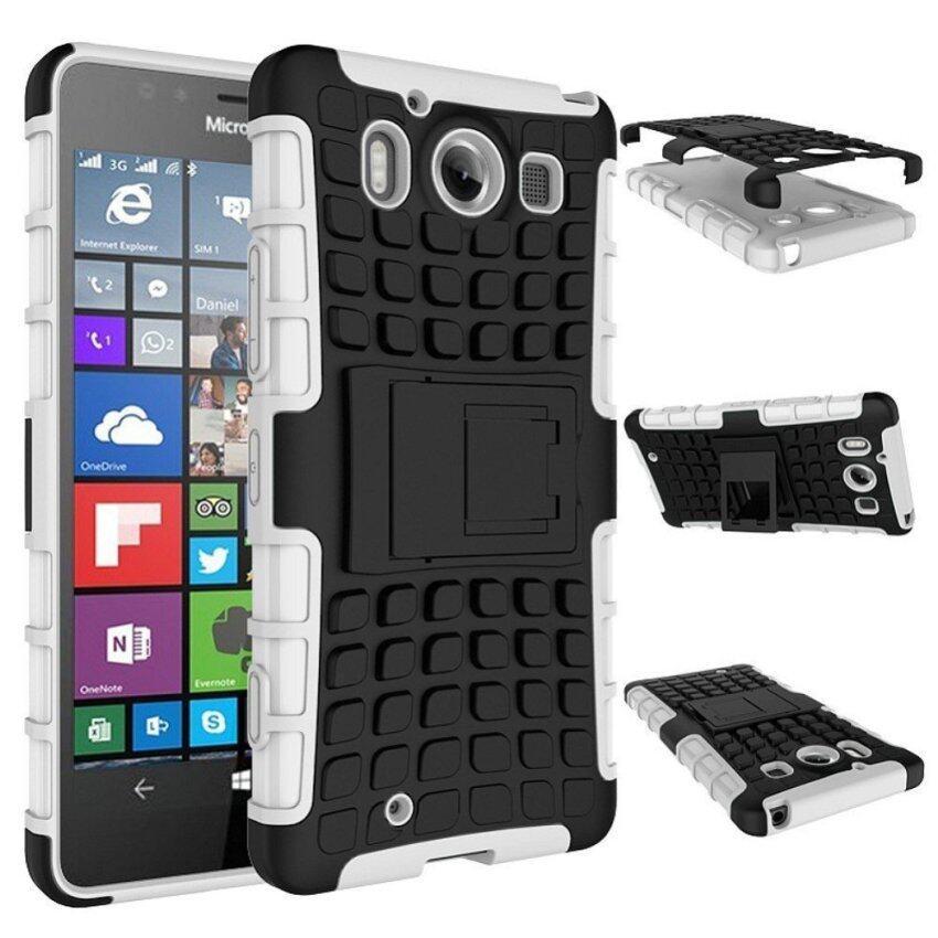 Angin Case TPU/Buah Tough Kasar Hibrida Case untuk Microsoft Lumia 950 (Seperti Yang