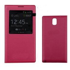 MYR 20. S View Window PU Leather Case Flip Cover for Samsung Galaxy Note 3 N900 N9000 N9005 ...