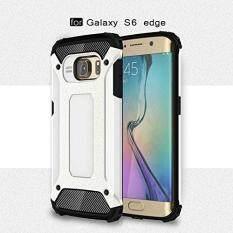 Eptwoo Armor Shock-Proof Dampak Keras Polikarbonat Cover + Lunak Bagian Dalam Karet 2 In 1 Kasar Case untuk Samsung Galaxy S6 Edge/G9250