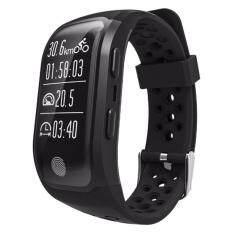 S908 GPS Jam Tangan Lari dengan Heart Rate Monitor Tidur Pengingat Tetap Pedometer IP68 Kebugaran Kedap Air Tracker Gelang Pintar untuk iPhone & Android