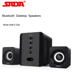 SADA D-226 Bluetooth Computer Speaker Desktop Booshelf Stereo Subwoofers Loud Speaker Support U Disk/TF Card Malaysia