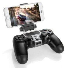 SaiDeng PS4 Slim Smart Handle Clip Cell Mobile Phone Clamp Holder with OTG Cable for Playstation