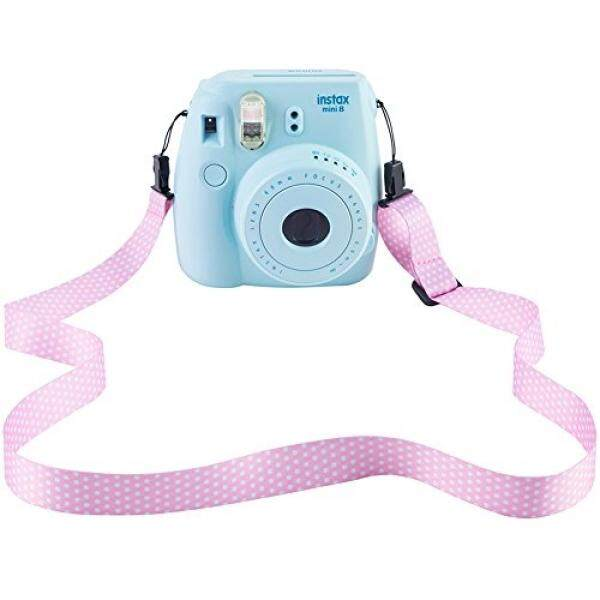Saika Kamera Schultergurt F? R Fujifilm Instax Mini 9/8/8 +/7 S/25/26/50 S/70/90 Sofortige Kamera, rosa Verstellbarer G? rtel Tali Leher F? R Polaroid Kamera Und Digitalkamera-Intl
