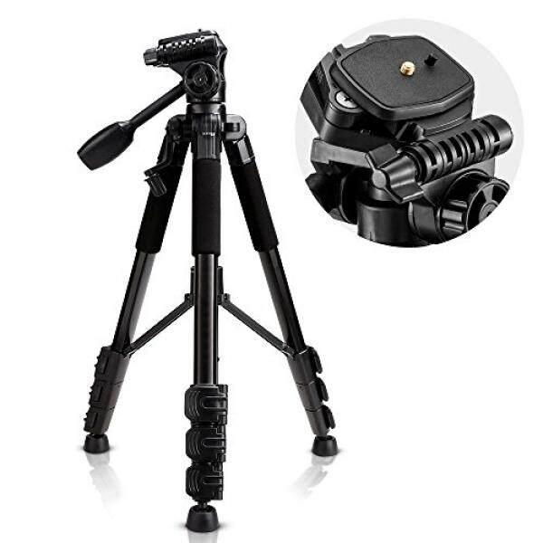 Sailnovo Sailnovo Tripod Kamera Berdiri untuk Set Pjs Nikon Sony Canon Olympus Lumix Pentax K-1, dengan 1/4