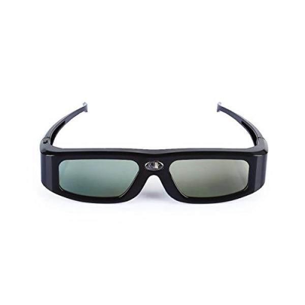 Sainsonic Zodiak GX-30 3D Kacamata Active Rana 144 HZ Isi Ulang untuk Semua Dlp-link Siap Proyektor, BenQ, optoma, Dell, Mitsubishi, Samsung, Acer, Vivitek, NEC, Sharp, VIEWSONIC, hitam-Internasional