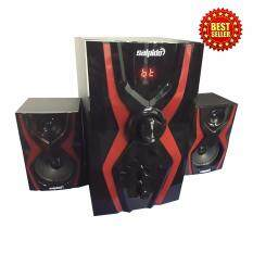 Salpido G3X Red Multimedia Speaker 2.1 Multimedia Speaker System Malaysia
