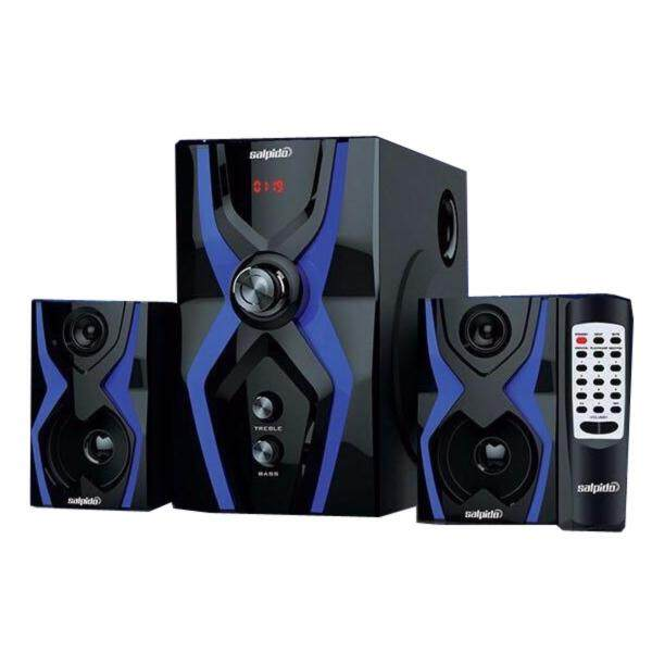 Official Salpido The Ultimate G3X Super Bass 2.1 High Quality Speaker with Bluetooth , FM Radio ,SD Slot , USB Slot Malaysia