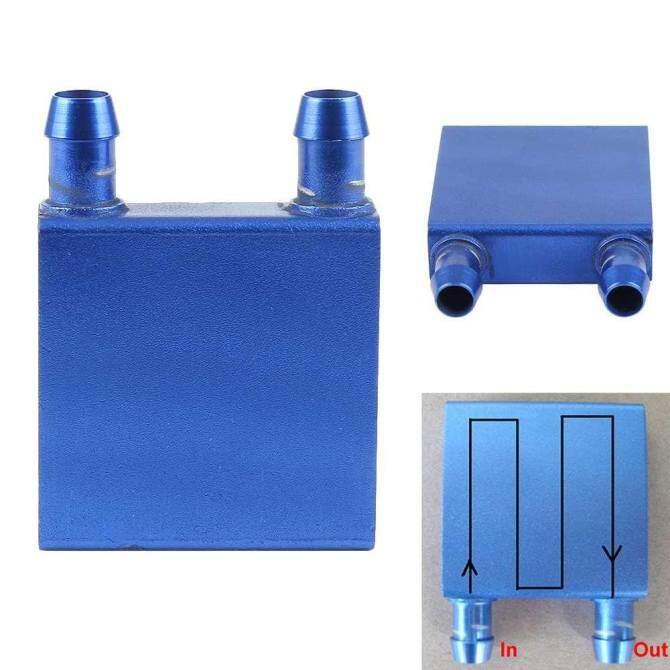 Same side Water Cooling Heatsink Block 40 x 40mm Durable Professional Waterblock Malaysia