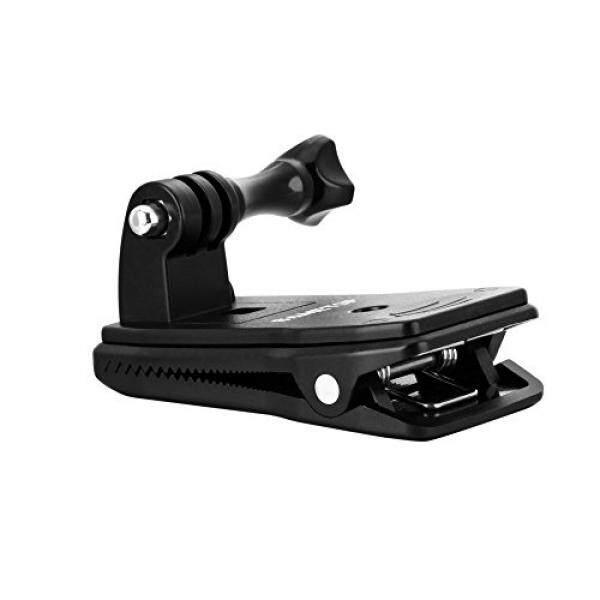 Sametop 360 Grad Drehbare Ransel Halterung Klip Halter Halterungrucksack F? R GoPro Hero 6, 5, 4 Sesi 3 +, 3, 2, 1 Kameras-Intl