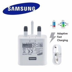 Samsung 15w 2.1a Fast Charging Usb Travel Adapter With Mirco Usb Cable For Galaxy Note 5/note 4/s6/s6 Edge (white) By Vennesy Voice Com Solution.