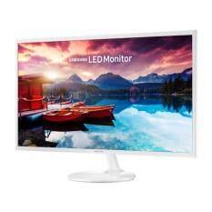 Samsung 31.5 LS32F351FUEXXM FHD White Monitor - With Super Slim Design Malaysia