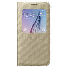Samsung Galaxy S6 4G Plus S View Cover Gold