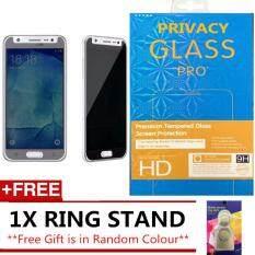 MYR 19. SAMSUNG GALAXY J5 2015 J500 ANTI SPY PRIVACY TEMPERED GLASS SP FREE IRING STANDMYR19