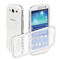 Samsung Galaxy S3 Case Transparency Clear Soft TPU Silicone Protective Back .