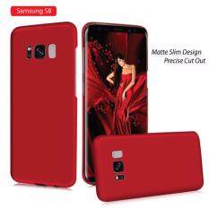 [Matte Slim Design] Back Case For Samsung Galaxy S8(Anti-Fingerprint +
