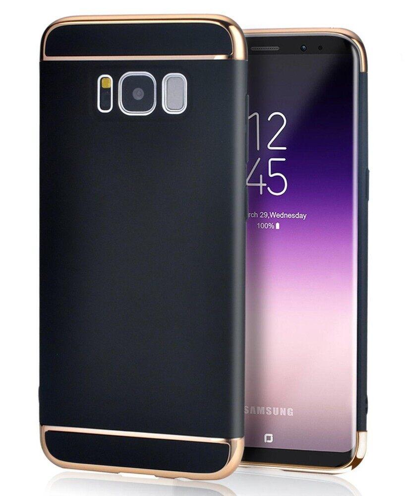 Samsung Galaksi S8 Plus Case, linkee 3 Dalam 1 Ultra Tipis dan Ramping Keras Case