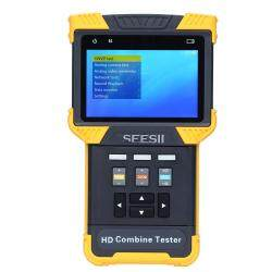 "SEESII 4.0"" 1080P HD Combine Tester IPC CCTV IP Analog Camera Test POE ONVIF Handheld 800X480 LED Torch"