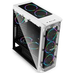 Segotep LUX II RGB ATX Gaming Computer Case - (White) Malaysia