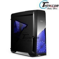Segotep Sprint ATX Mid Tower Gaming Casing - black Malaysia