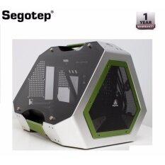 Segotep TG Tempered Glass Fully Aluminium M-ATX/ITX Gaming Case Malaysia