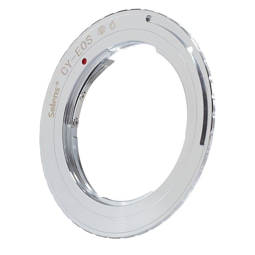 Selens CY-EOS ZEISS/Contax/Yashika Lensa untuk Canon EF Gunung Adapterring-Intl