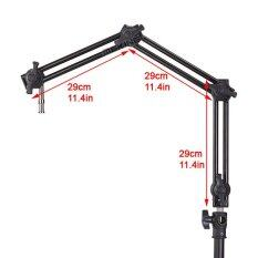 Selens S-099 Three-Section Adjustable Articulated Arm Sliding Extension System For Flash Speedlite Etc By Mkstudio.