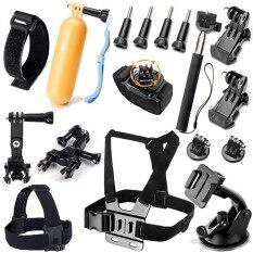 Accessories Kit For Xiao Mi Yi 4k Mijia Head Strap Chest Strap Floating Grip Monopod Bike Handle Bar Holder Suction Cup For Go Pro Hero 6 5 4 3+ Sj Cam Sj4000 Action Camera Set By Sumfree.