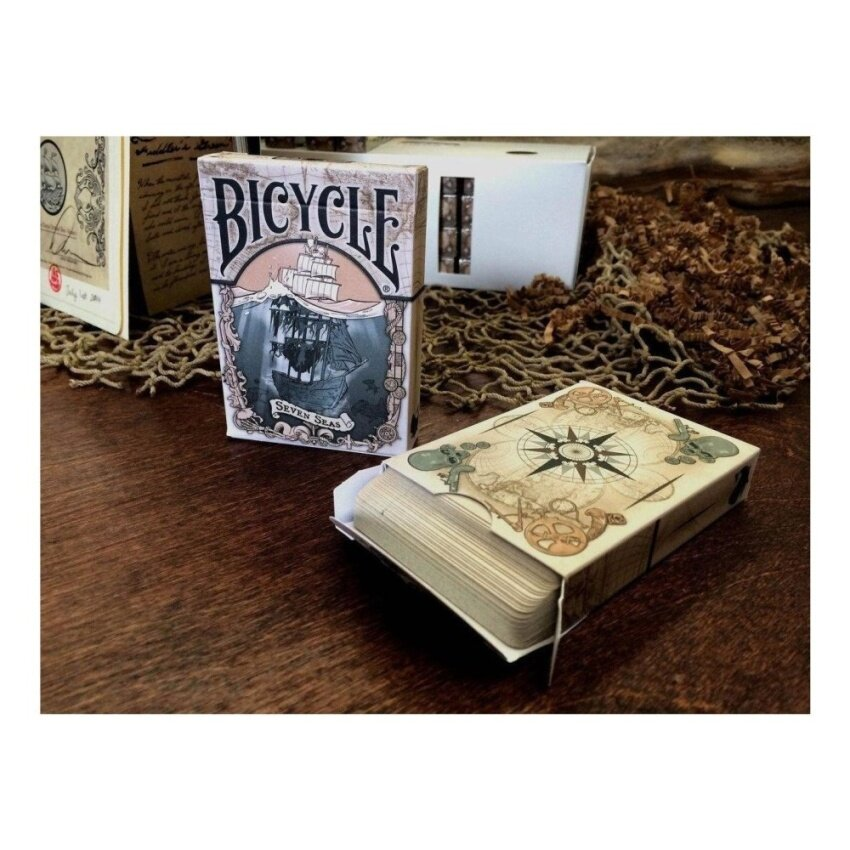 Seven Seas Themed Bicycle Playing Cards - intl