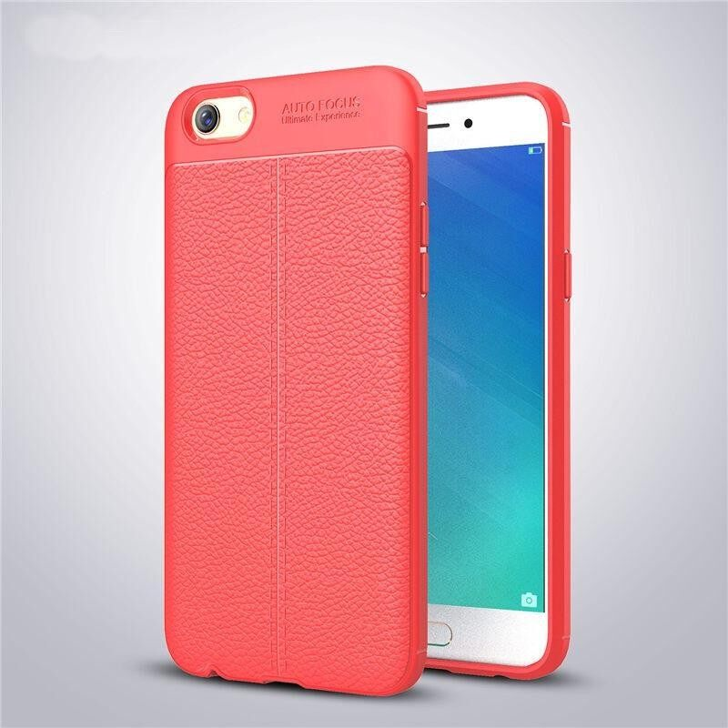 Litchi Leather Pattern Protective Cover Case For Oppo A71 - intlTHB208. THB .