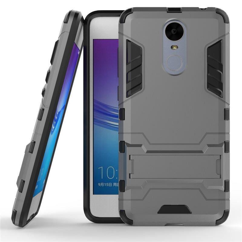 Sevenplus Super Jatuh Protectionarmor Seri Moderen Gaya Ramping Keras Hibrida Sarung dengan Stand Penyangga Case untuk Huawei Nikmati 6 internasional
