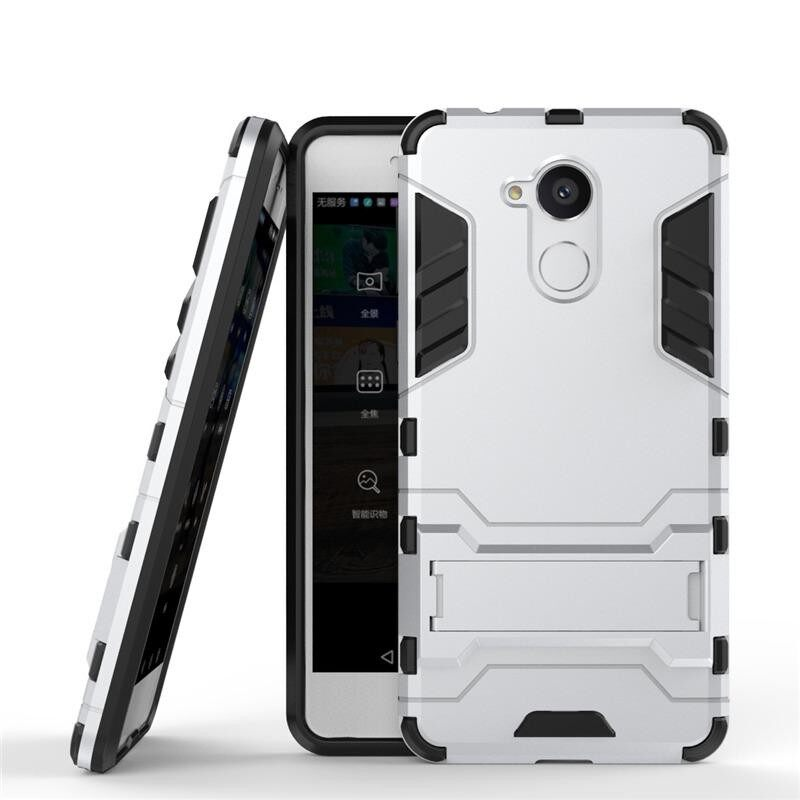 SevenPlus Super Drop ProtectionArmor Series Modern Style Slim Hard Hybrid Phone Cover with Kickstand Case for