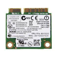 SHANYU 2.4/ 5G Dual-Band Mini PCI-E WIFI Card for Lenovo IBM/ Intel 6300 AGN