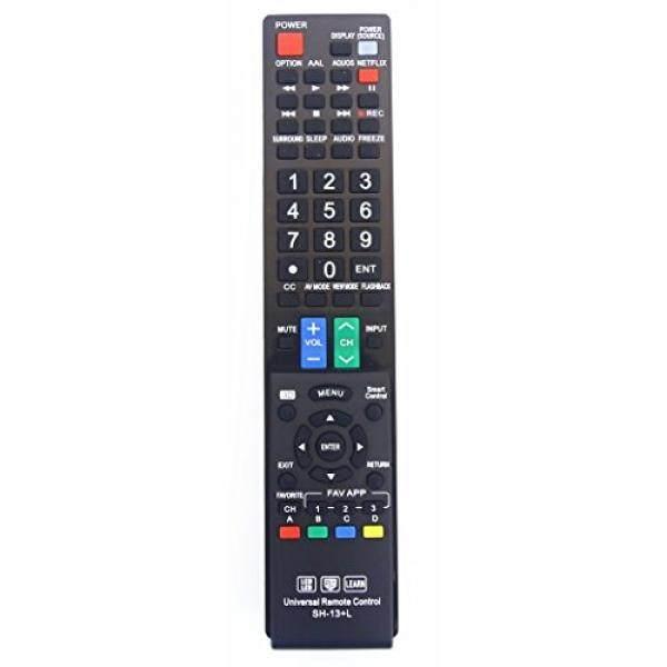 Sharp GB004WJSA Universal Jarak Jauh Pengendali untuk Semua Merek SHARP Televisi, Pintar Televisi-Garansi 1 Tahun-Internasional