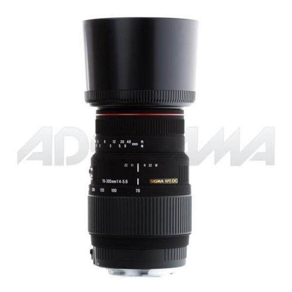 SIGMA 70-300 Mm F/4-5.6 DG Apo Macro Zoom Potret Jarak Jauh Lensa untuk Canon Kamera SLR-Intl