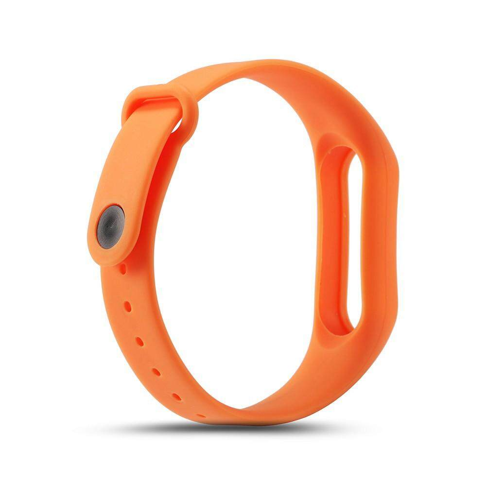 Silicon Wrist Strap WristBand & 2PCS 0.1mm HD Protective Film For Xiaomi Miband2