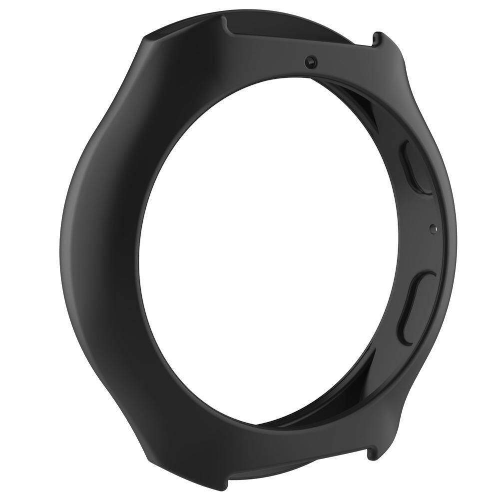 Silicone Protect Case Frame Cover for Galaxy Gear S2/SM-R720/SM-R73(Black) - intl