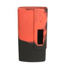 Silicone Protective Case Cover Sleeve Skin Wrap For Sigelei 213W/Fuchai 213W Mod black+red