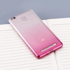 Silicone Ultrathin Transparent Full Edge Protector Phone Back Cover for Xiaomi Redmi 3 / 3s (