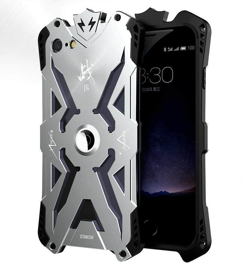 Chắc bạn cũng thích SIMON For iPhone 7 Phone Case Luxury Metal+TPU Aluminum THOR