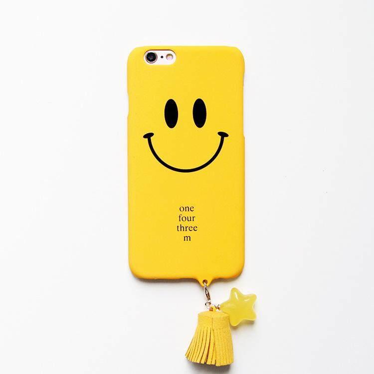 Sederhana Senyum Manis Komputer Personal Ramping Wadah PENUTUP UNTUK iPhone 7 Telepon Case S Mobile Cover