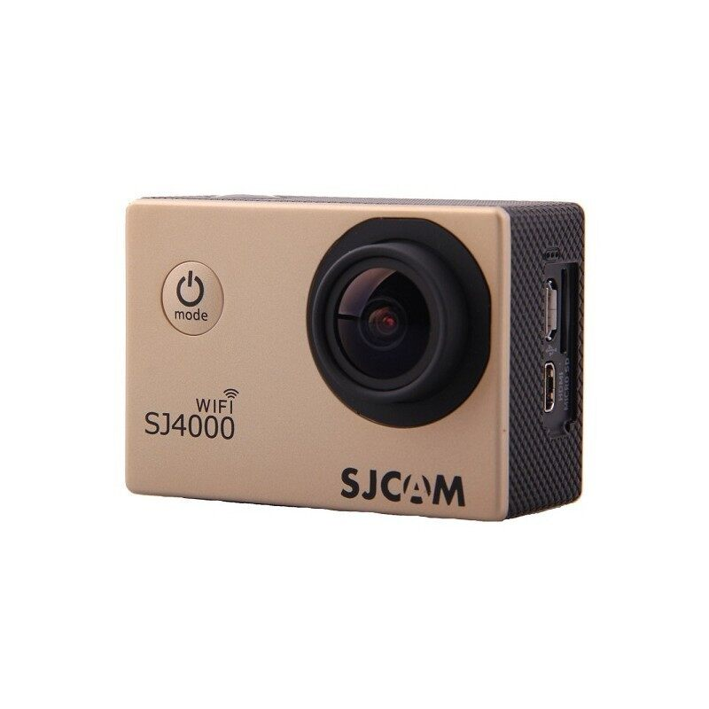 AirTop SJCAM SJ4000 WiFi 1080P Full HD Action Camera Sport DVR (Gold)