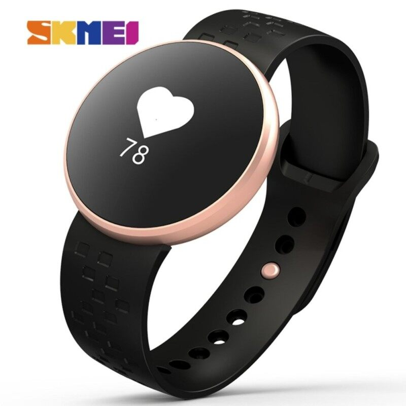 1a4cd9f90be515 SKMEI Women Sports Smart Watches Fashion Bluetooth Watch Calorie Remote  Camera Fitness Sleep Monitoring Waterproof Wristband ...