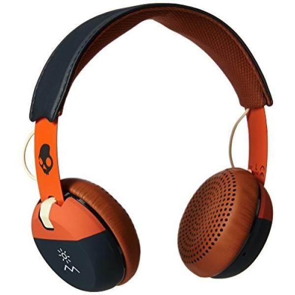 Skullcandy Grind On-Ear Headphones with Built-In Microphone, Supreme Sound with Powerful